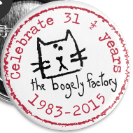 Design ~ bogely factory anniversary badges