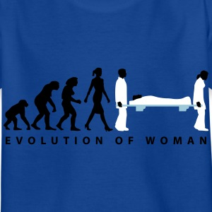 evolution_sanitaeterin_09_201601_3c T-Shirts - Kinder T-Shirt