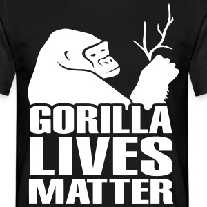 Gorilla Lives Matter T-Shirts - Men's T-Shirt