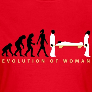 evolution_sanitaeterin_09_201602_3c T-Shirts - Frauen T-Shirt