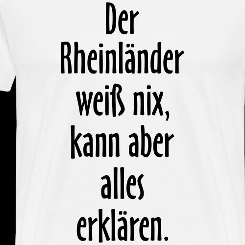 Der Rheinländer - Versuch einer Typologie
