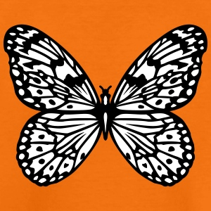 Black and white butterfly Shirts - Kids' Premium T-Shirt