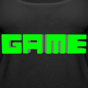GAME Würfel Tops - Frauen Premium Tank Top
