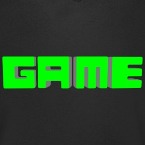 game 3d Tee shirts - T-shirt Homme col V