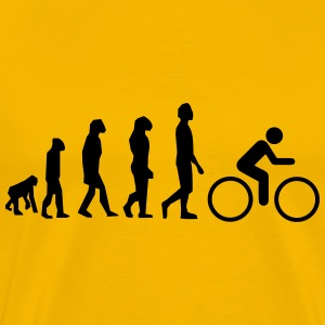Bike evolution - Herre premium T-shirt