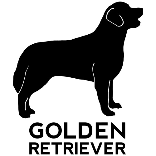 Golden Retriever Silhouette