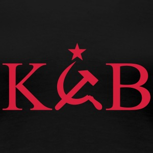 KGB - Star T-Shirts - Frauen Premium T-Shirt