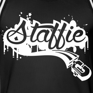 Staffie graffiti Vêtements de sport - Maillot de basket Homme