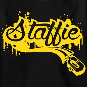 Staffie graffiti Tee shirts - T-shirt Enfant