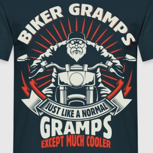 Biker Gramps T-Shirts - Men's T-Shirt