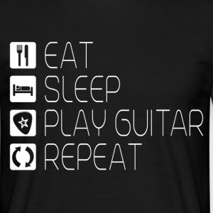 Eat Sleep Play Guitar T-Shirts - Männer T-Shirt