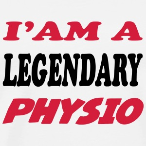 I'am a legendary physio Tee shirts - T-shirt Premium Homme