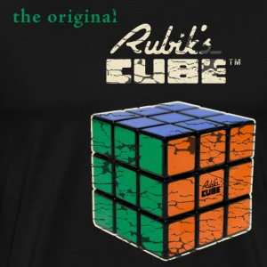 Rubik's Cube The Original - Premium T-skjorte for menn