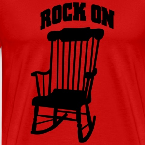 rock on T-shirts - Premium-T-shirt herr