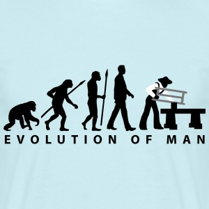evolution_zimmermann_d_3c T-Shirts - Männer T-Shirt