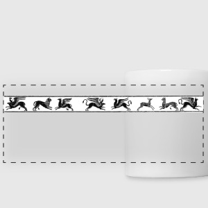 Antaon - monsters frieze Bouteilles et Tasses - Tasse panorama