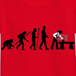 evolution_zimmermann_e_3c T-Shirts - Kinder T-Shirt