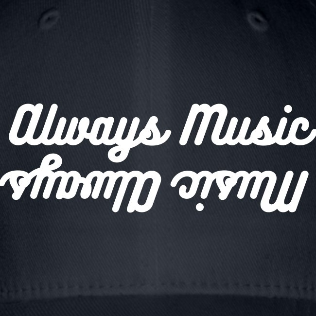 Music Always, Always Music baseball cap, grey