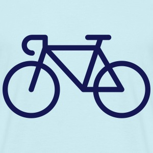 Racing Bicycle / Bike (Icon / Pictogram) T-Shirts - Men's T-Shirt