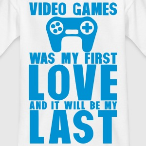 video games was my first love last manet T-Shirts - Kinder T-Shirt