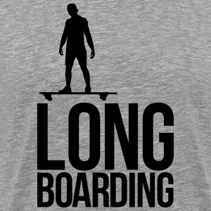 long boarding T-shirts - Mannen Premium T-shirt