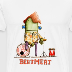 Beatmeat - Männer Premium T-Shirt
