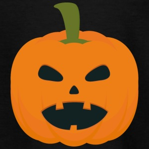 Halloween græskar T-shirts - Teenager-T-shirt