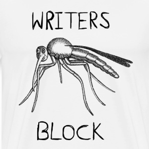 Writers Block Mens Tshirt - Men's Premium T-Shirt