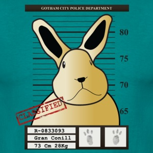 Celebrity mug shot - Men's T-Shirt