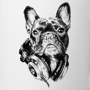 DJ Frenchie Mugs & Drinkware - Mug