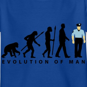 evolution_a_us_cop_police_marshall_09_20 T-Shirts - Kinder T-Shirt