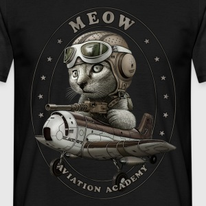 MEOW ACADEMY - Men's T-Shirt