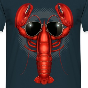 COOL LOBSTER - Men's T-Shirt