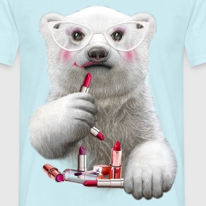 PAULA LIPSTICK - Men's T-Shirt