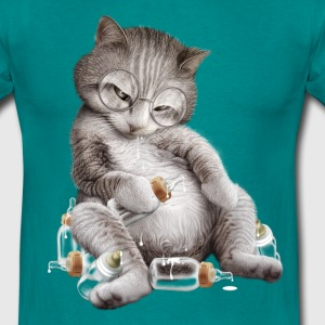DRUNK CAT - Men's T-Shirt
