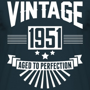 VINTAGE 1951 - Aged To Perfection  T-Shirts - Men's T-Shirt