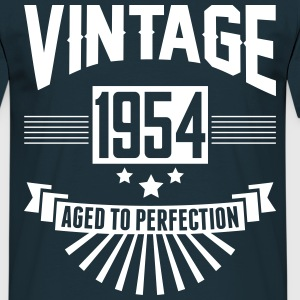 VINTAGE 1954 - Aged To Perfection  T-Shirts - Men's T-Shirt