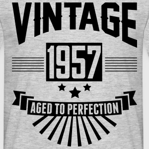 VINTAGE 1957 - Aged To Perfection  T-Shirts - Men's T-Shirt