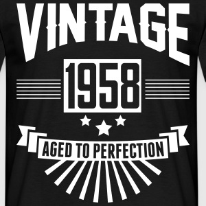 VINTAGE 1958 - Aged To Perfection  T-Shirts - Men's T-Shirt