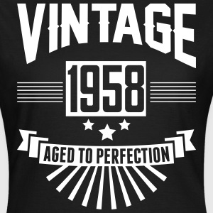 VINTAGE 1958 - Aged To Perfection  T-Shirts - Women's T-Shirt