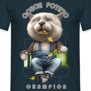 COUCH POTATO CHAMPION - Men's T-Shirt