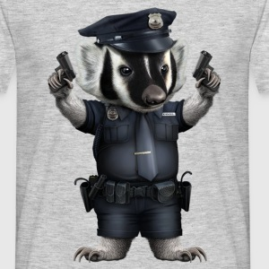 BADGER POLICE - Men's T-Shirt
