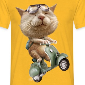 RUNAWAY CAT - Men's T-Shirt