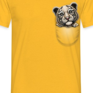 POCKET TIGER - Men's T-Shirt