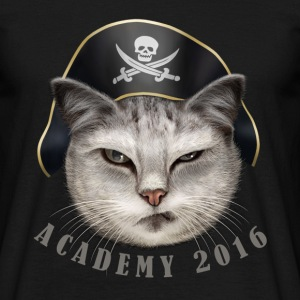 PIRATE CAT ACADEMY - Men's T-Shirt