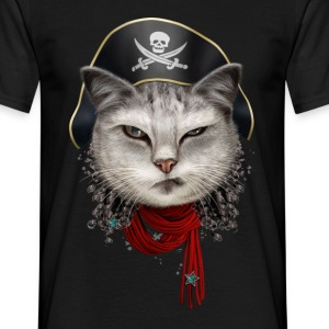 PIRATECAT - Men's T-Shirt