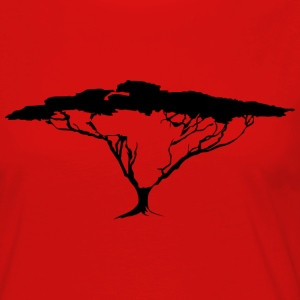 African Tree Premium Long sleeve women's shirt - Women's Premium Longsleeve Shirt