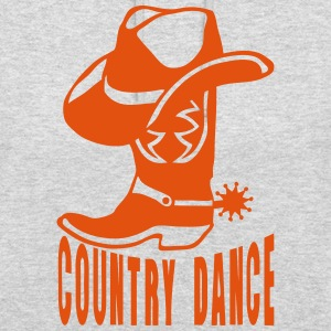 cowboys country dance landler boot logo Pullover & Hoodies - Unisex Hoodie