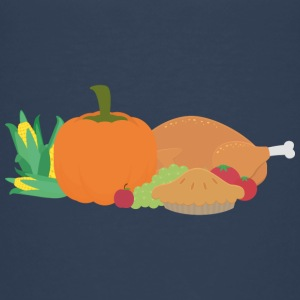 Thanksgiving Turkey and pumpkin Shirts - Kids' Premium T-Shirt