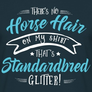 Glitter Standardbred  T-Shirts - Men's T-Shirt